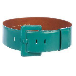 Dries Van Noten Wide Leather Belt